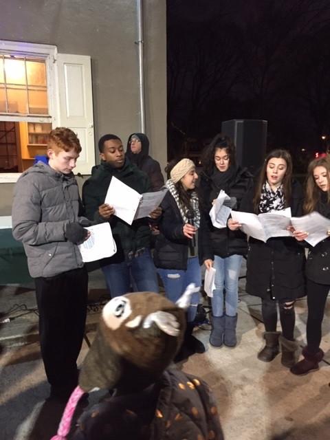 GAMP Choir sings carols
