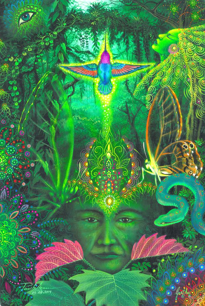 """ISAHNGHA, Espiritu Medicinal"""