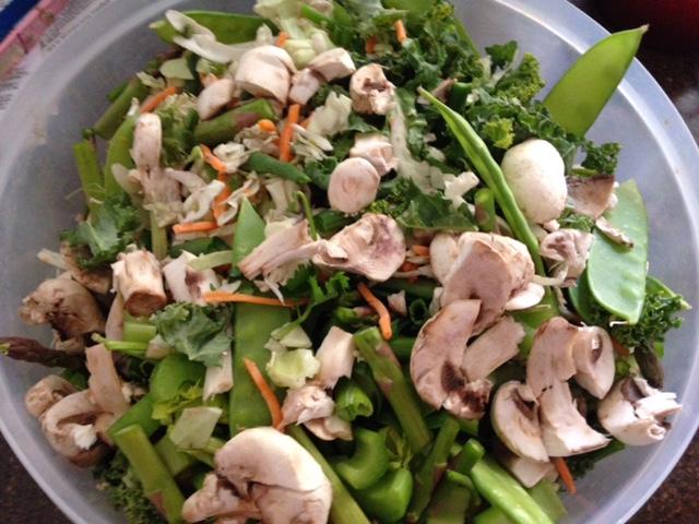 Chicken Kale Salad