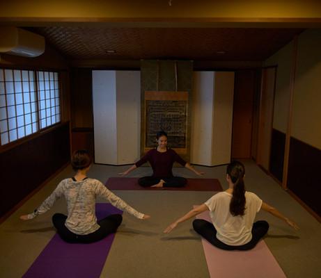 e.g. yoga class