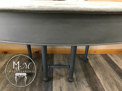 11 Gray Wash Table
