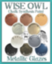 Wise Owl Metallic Glazes