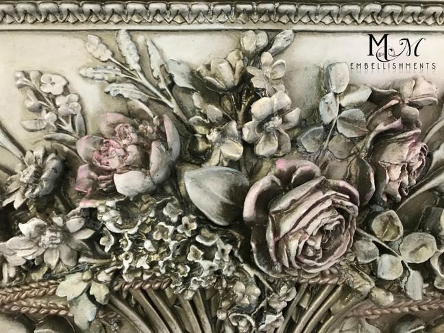 Grande Floral Panel