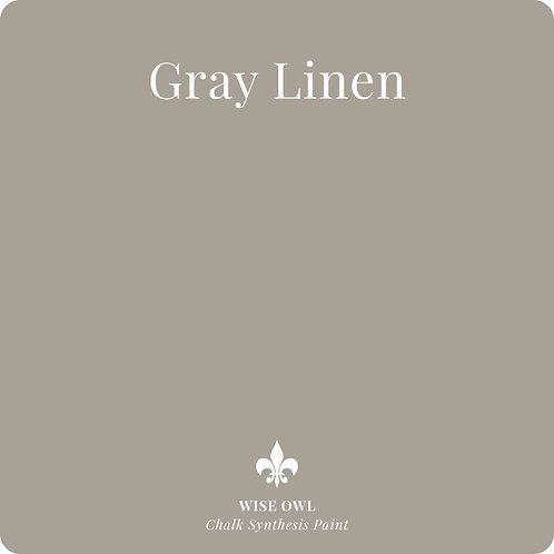 GRAY LINEN, Wise Owl Chalk Synthesis Paint, Pint