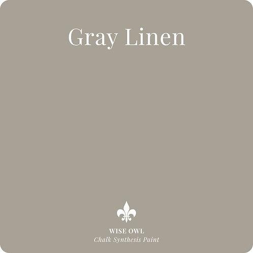 GRAY LINEN ENAMEL PAINT, QUART