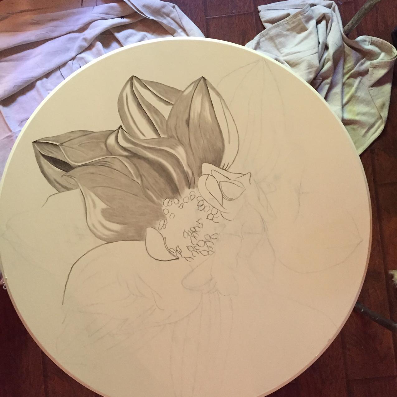 13 Queen Ann Table, Magnolia 2