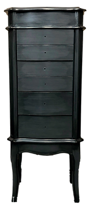 Hand painted Jewelry Armoire
