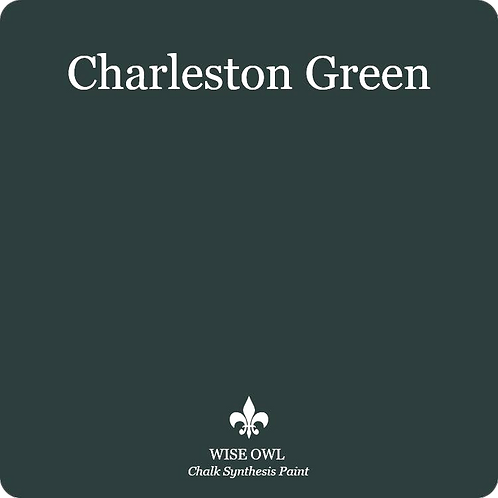 CHARLESTON GREEN, Wise Owl Chalk Synthesis Paint, Pint