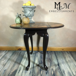 Sunflower stained furniture art