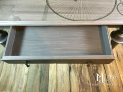 Drawer Detail Bicycle Writing Desk