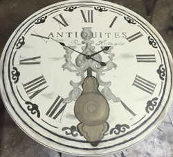 French Clock Table