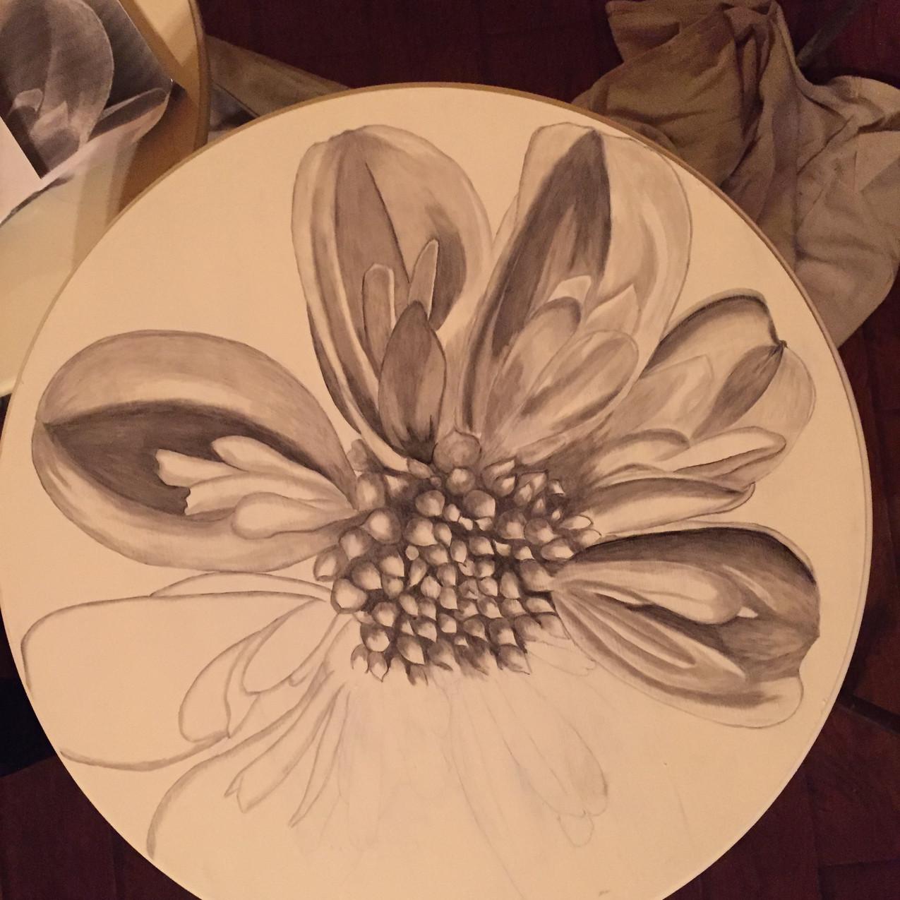 6 Queen Ann tables, Magnolia 1