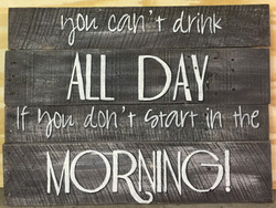 Custom Wooden Quote sign