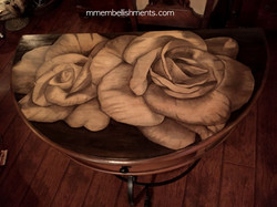 26 Double Rose STain TAble