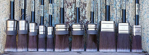 Premium Cling On Brushes
