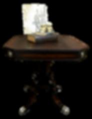 Refurbished Flame Mahogany Table