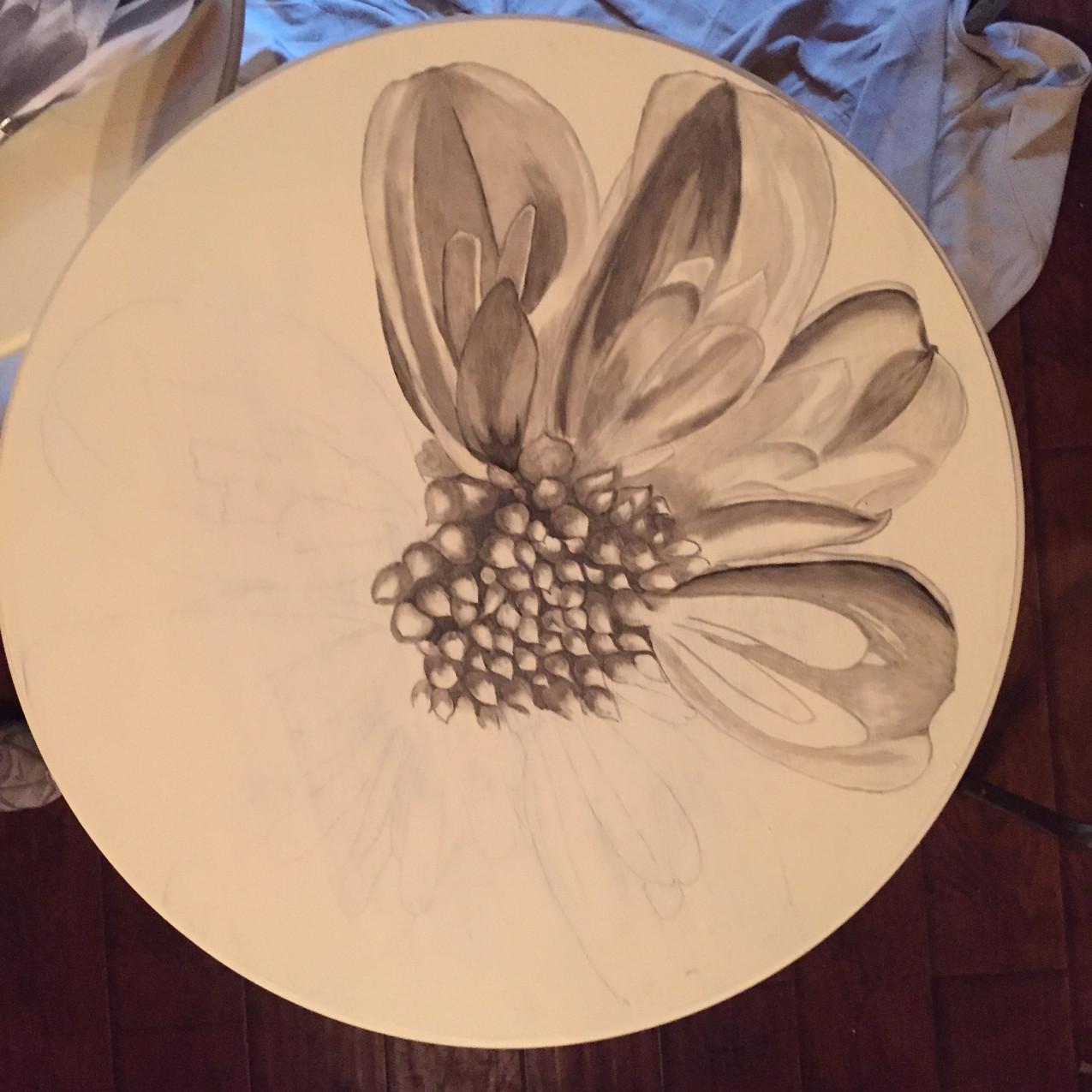 5 Queen Ann tables, Magnolia 1