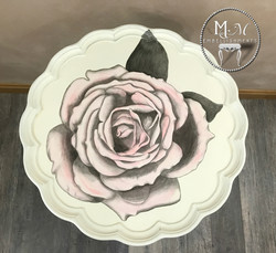 20 stain shading rose table