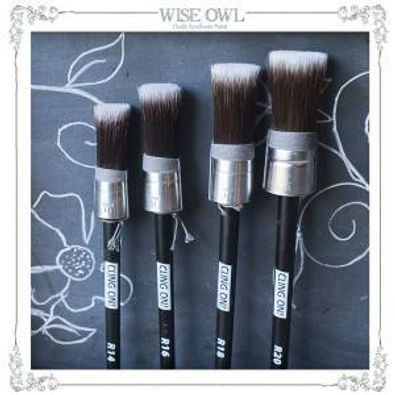 Cling On Round Brushes
