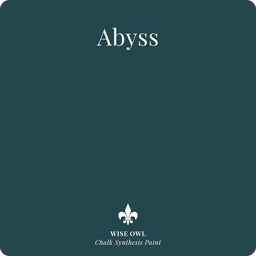 ABYSS, Wise Owl Chalk Synthesis Paint, Pint