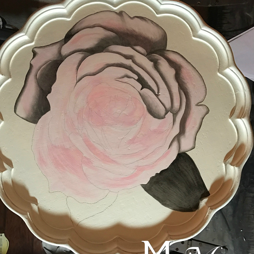10 stain shading rose