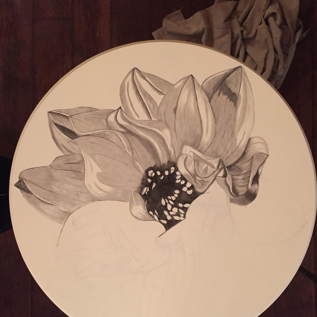 15 Queen Ann Table, Magnolia 2