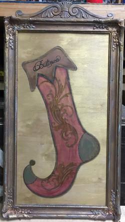 Hand painted Stocking