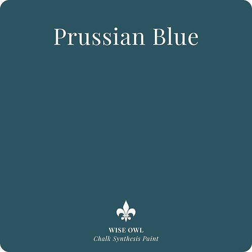 PRUSSIAN BLUE, Wise Owl Chalk Synthesis Paint, Pint