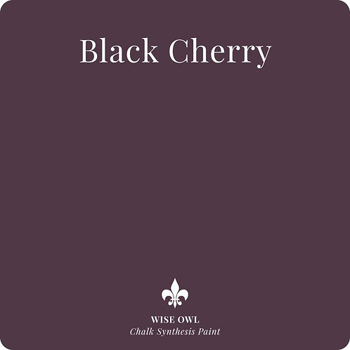 BLACK CHERRY, Wise Owl Chalk Synthesis Paint, Pint