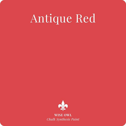 ANTIQUE RED, Wise Owl Chalk Synthesis Paint, Pint