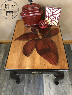 12 Red Stained Lily