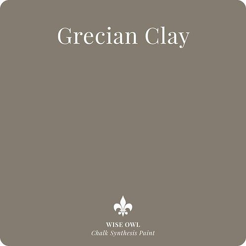 GRECIAN CLAY, Wise Owl Chalk Synthesis Paint, Pint