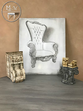Vintage Chair Wall Art
