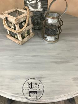 10 Gray Wash Table