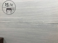 16 gray washed table top