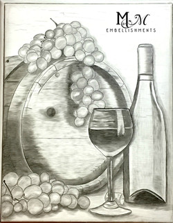 hand stained wine images
