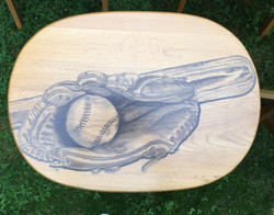 23 baseball hand stained tv table_edited