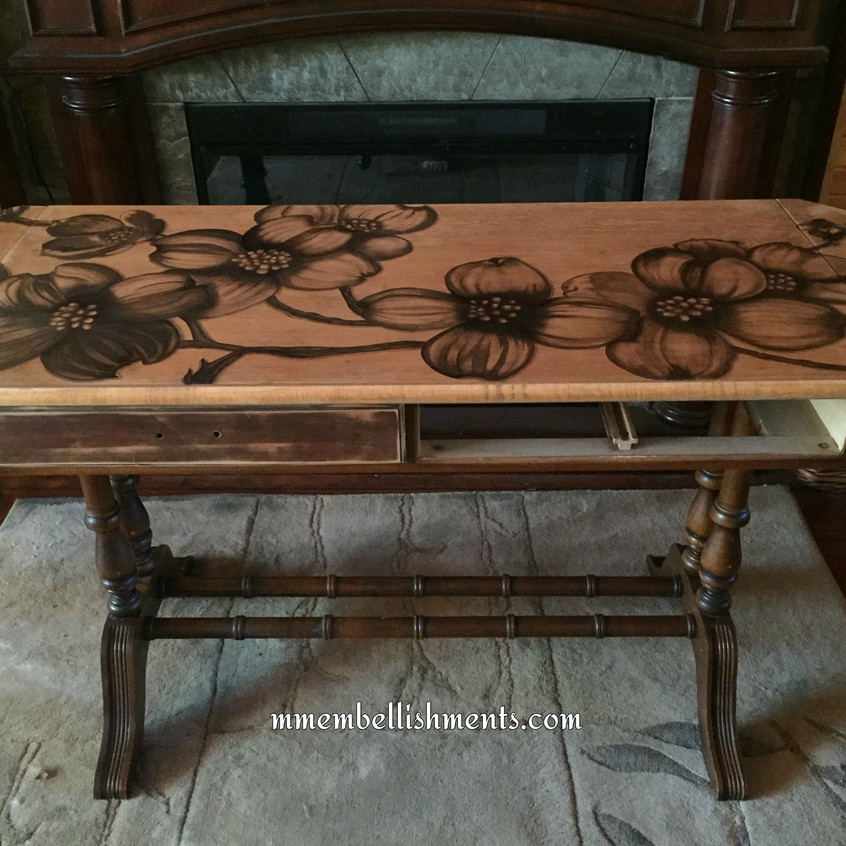 26 dogwoodstained table