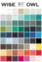 wise owl color chart spring 2019