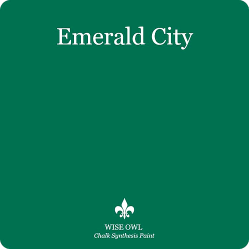 EMERALD CITY, Wise Owl Chalk Synthesis Paint, Pint