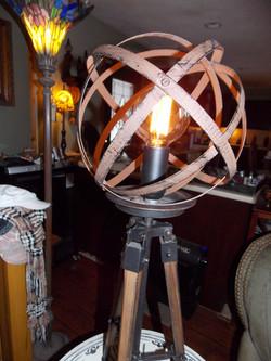 Industrial Sphere lamp