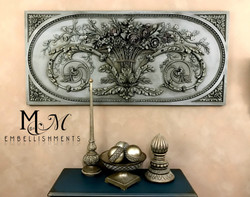 Grande Floral Wall Panel