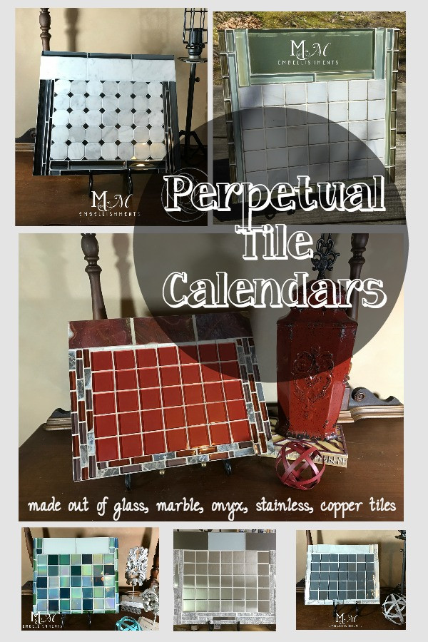 Tile calendars, dry erase calendars... What are these?