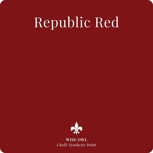 WISE OWL REPUBLIC RED