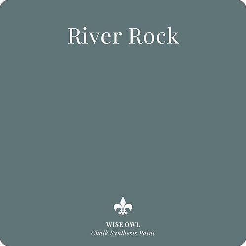 RIVER ROCK, Wise Owl Chalk Synthesis Paint, Pint