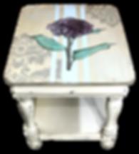 Hydrangea Side Table