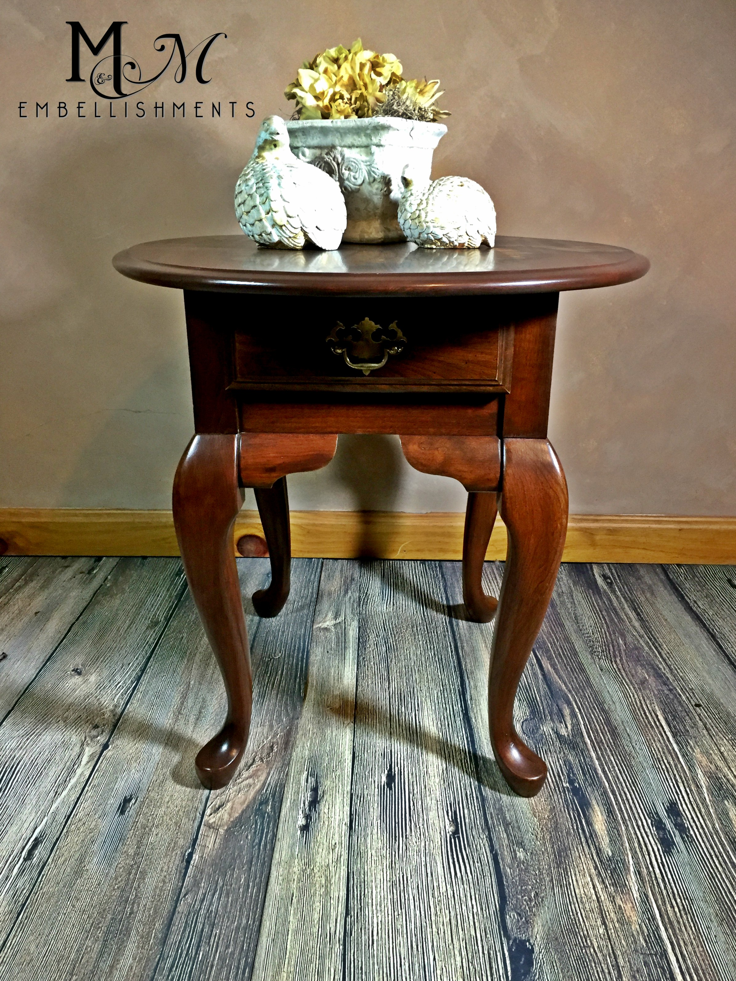 Iris Accent Table