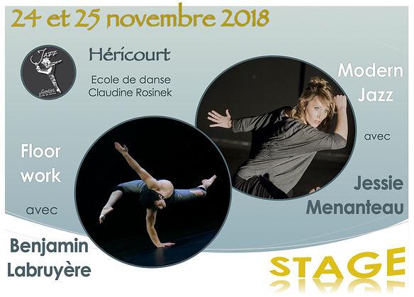 Stage_Héricourt modern jazz floor work