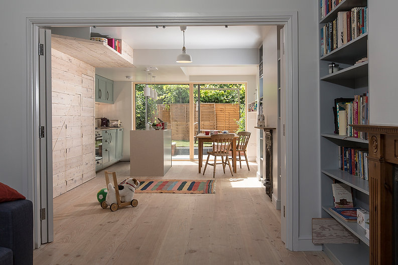 London N15 house extension and refurbishment