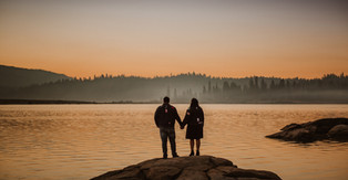 Shaver Lake Engagement Session